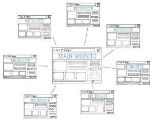 Desde los Microsite podemos ofrecer a nuestros clientes información específica a nuestros clientes fuera de nuestra página web.