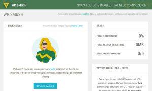 Como optimizar la velocidad de carga de nuestra página web gracias a Smush y la optimización del peso de las imágenes guardadas en la web