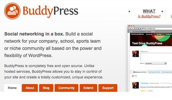 Gracias al plugins de WordPress llamado Buddypress podremos gestionar dentro de nuestra página web una Red Social con la que interconectar usuarios entre sí