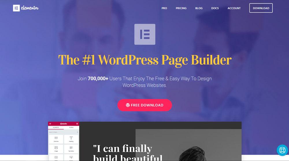 Elementor, un Page Builder que se abre paso en WordPress
