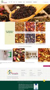 Tienda Online realizada bajo Prestashop para la Empresa Granada Tea Company, con una plantilla personalizada a las necesidades del cliente
