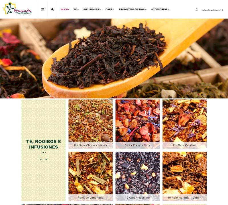 Tienda Online Granada Tea Company