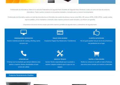 Diseño Tienda Online Profesionales Informática